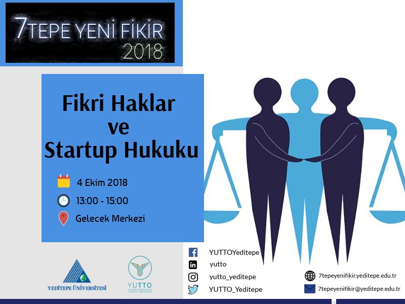 Fikri Haklar Ve Startup Hukuku Eğitimi Gerçekleştirildi Tto Yeditepe